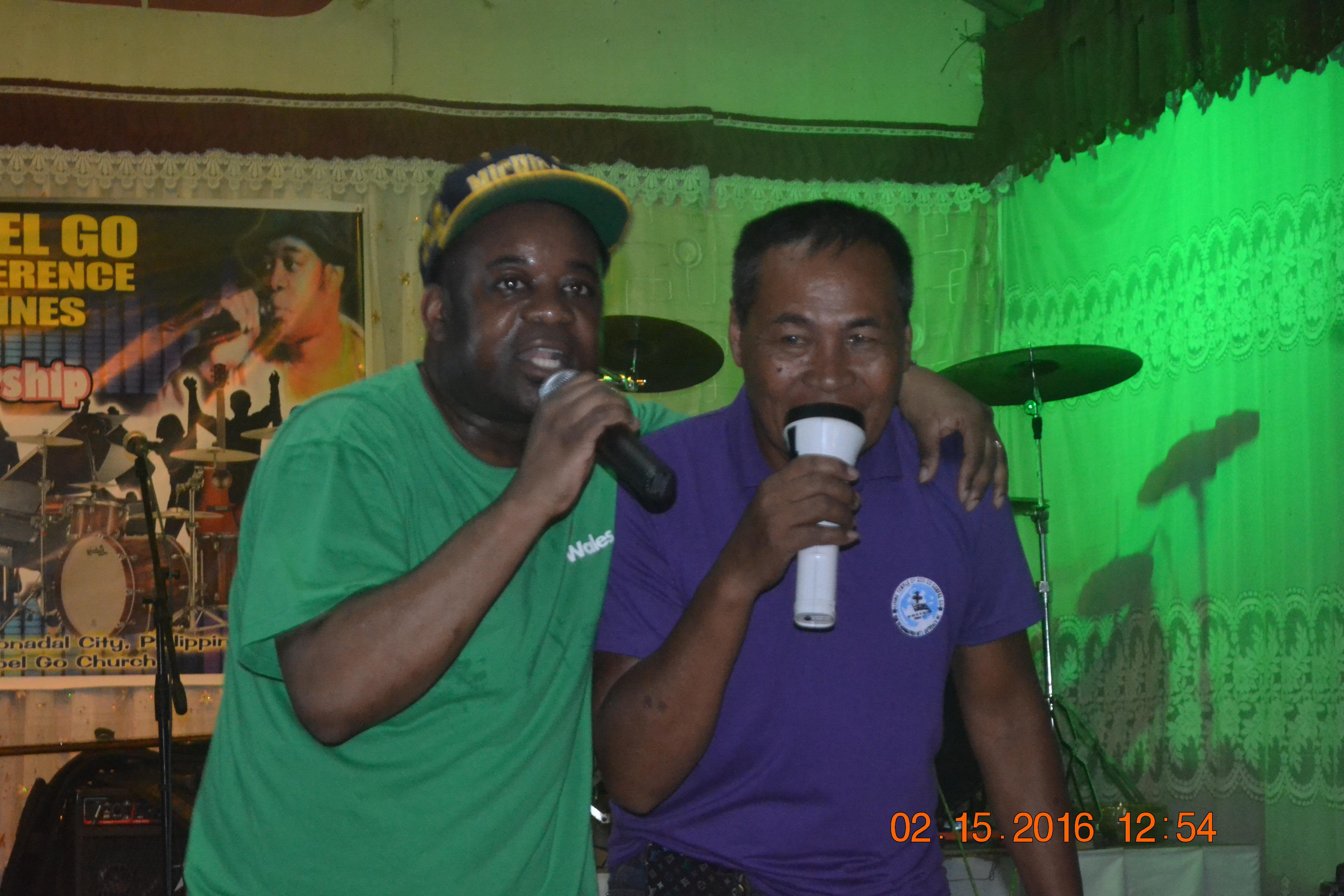 Me and Pastor Amado