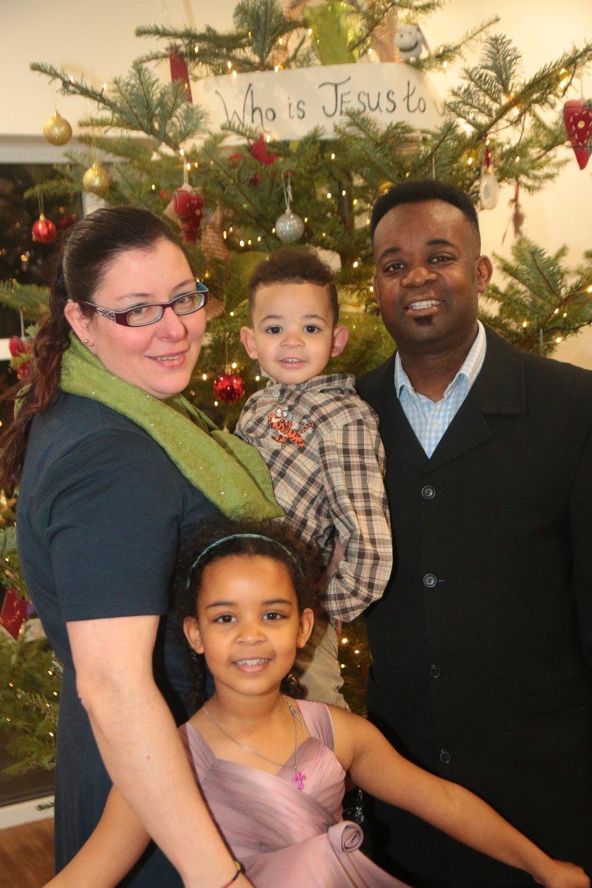 Joseph George and Family