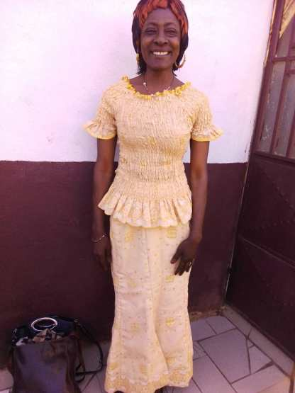 Sister Lydie a year on after being healed of HIV