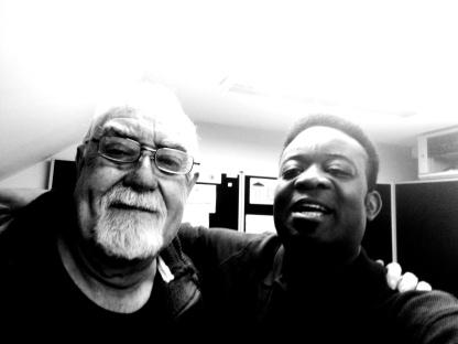 With Roy Jenkins of Tudno FM